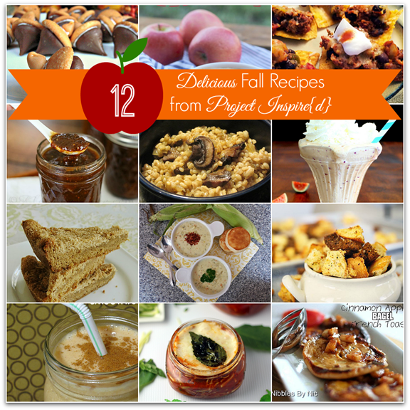 12 Delicious Fall Recipes