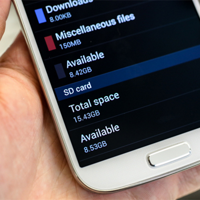 Samsung Galaxy S2, S3, S4 : Mémoire interne insuffisante… Impossible d'installer l'appli...