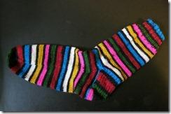 Desert Vista Dyeworks - Dias Sock 1 complete