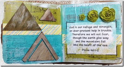 Board Book refuge and strength w border