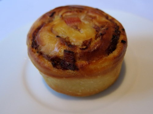 Bacon and Onion Brioche