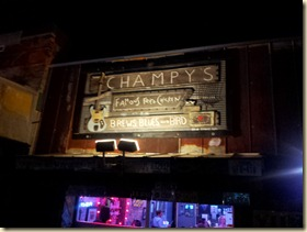Champy's Sign