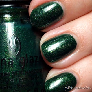 China Glaze Glittering Garland 4