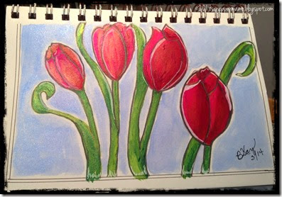 my tulips from DD 2