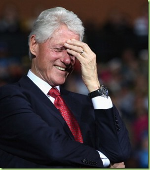 BILL CLINTON OHIO CAUGHT OFF CAMERA