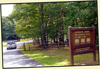 19b - Tuesday - Nottely Lake Kayak - Poteete Creek Rec Area - put in spot