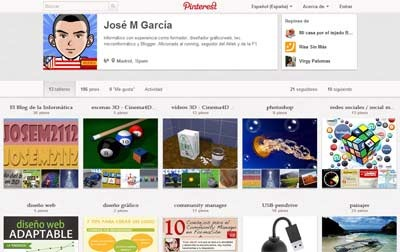 Descargar tableros de Pinterest