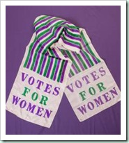 suffragett scarf