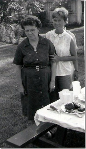 mom and me