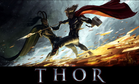 Thor movie wallpaper6