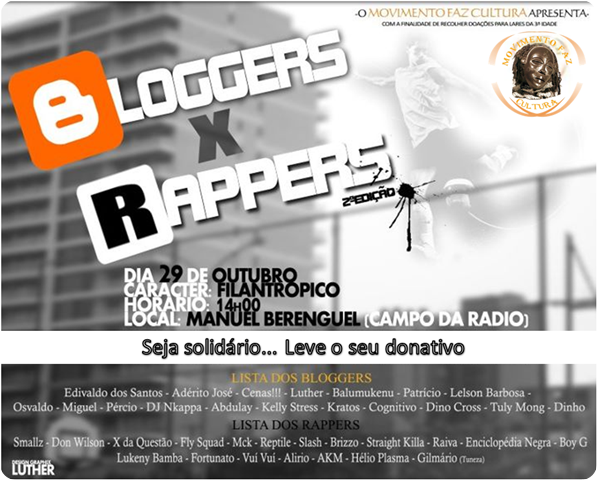 Bloggers X Rappers (Parte 2) [Panfleto]