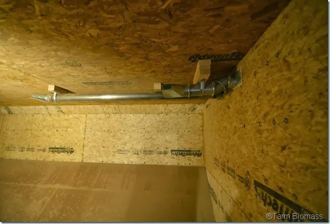 Fröling P4 Pelet Boiler Fuel Store Room