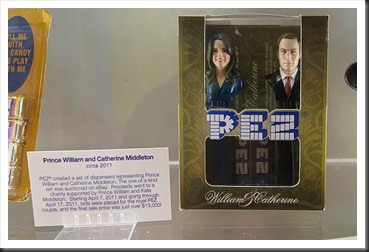 Prince William and Catherine PEZ Dispenser