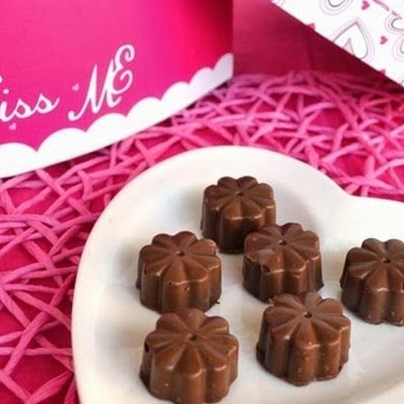 Σοκολατακια γεμιστά
