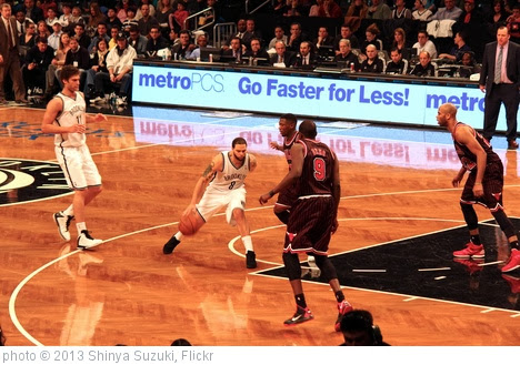 'Brooklyn Nets vs Chicago Bulls' photo (c) 2013, Shinya Suzuki - license: http://creativecommons.org/licenses/by-nd/2.0/
