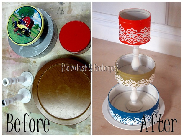 3-Tired organization using basic household items! {Sawdust and Embryos}