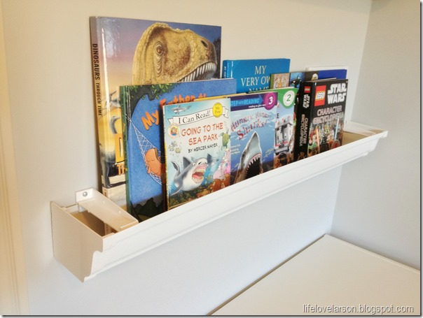 rain gutter bookshelves 3
