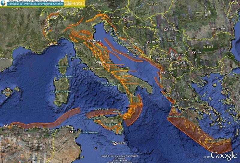 Faglie attive sismogenetiche illuminate dai recenti terremoti