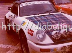 Rallye de Portugal 1979 - José Gonçalves - Miguel Oliveira - desistiram na 23ª SS por acidente