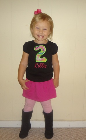 Lilz is 2!