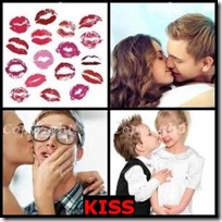 KISS- 4 Pics 1 Word Answers 3 Letters