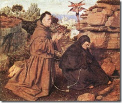 Jan van Eyck - Stigmatization of St Francis