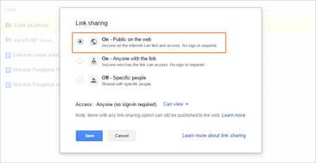 Cara Mudah Upload Code JavaScript di Google Drive 07
