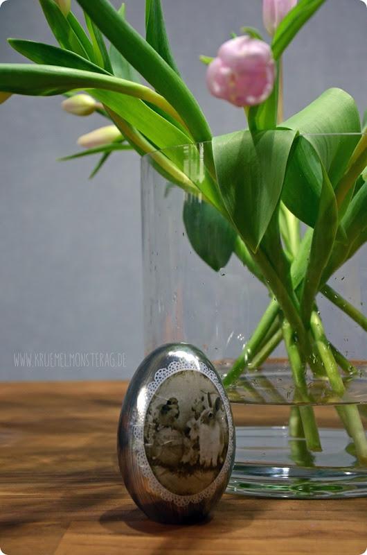 Zartrose Tulpen (05) in der Rundvase am Friday Flowerday