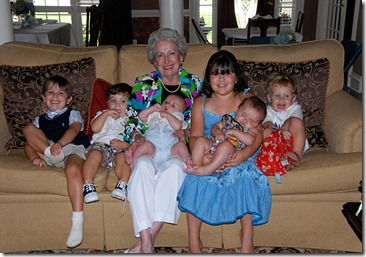 Mamama and grandkids 4
