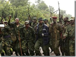 M23 Rebels supported by Rwanda