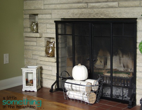 Fall 2012 Mantel - Floor Level