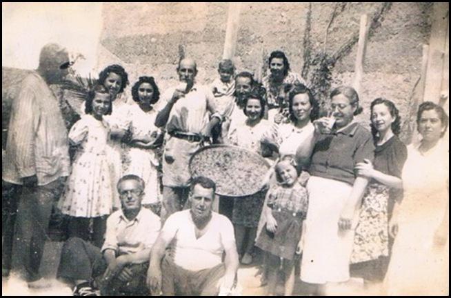Paella en las afueras de Valencia. 1939