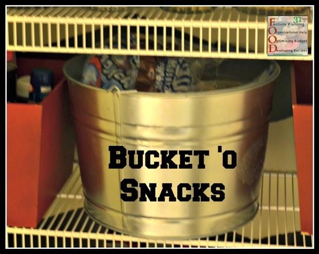 bucket o snacks