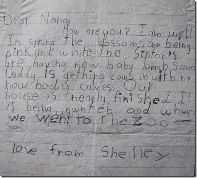 Week 39 - Nana's letter copy