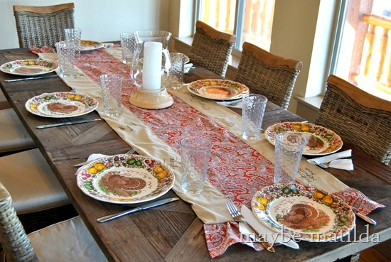 DIY Thanksgiving Grateful Table Runner