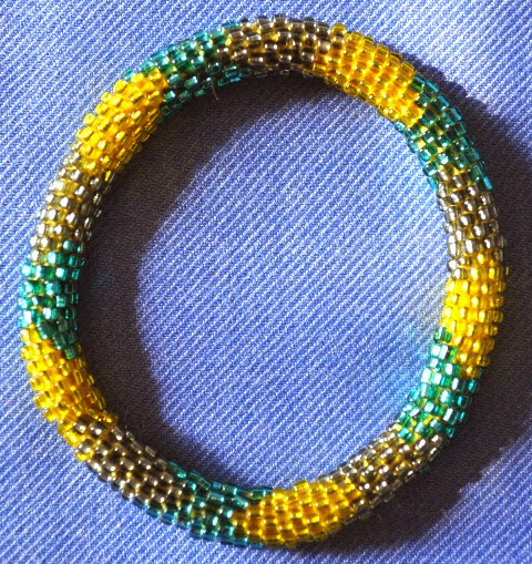 Glass Bead Bracecelets
