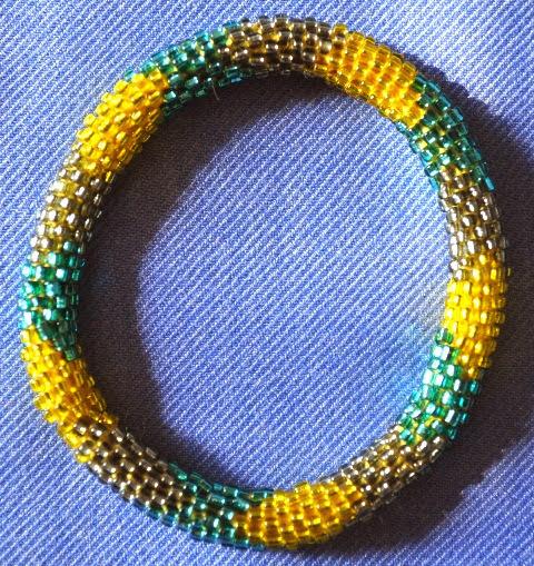 Glass Bead Bracecelets
