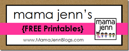 Mama Jenn&#39;s FREE Printables