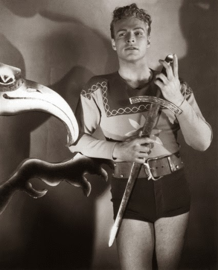 "BUSTER CRABBE AS ""FLASH GORDON"""