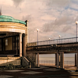 Eastbourne Bandstand by Andy Kay - Buildings & Architecture Public & Historical ( bandstand, sussex, d7100, wide, nikon, panoramic, panorama, coast, eastbourne )