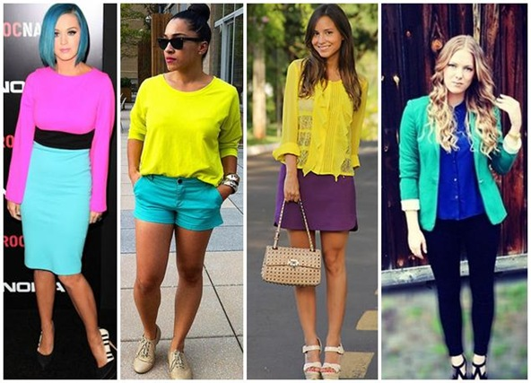 Color Blocking looks