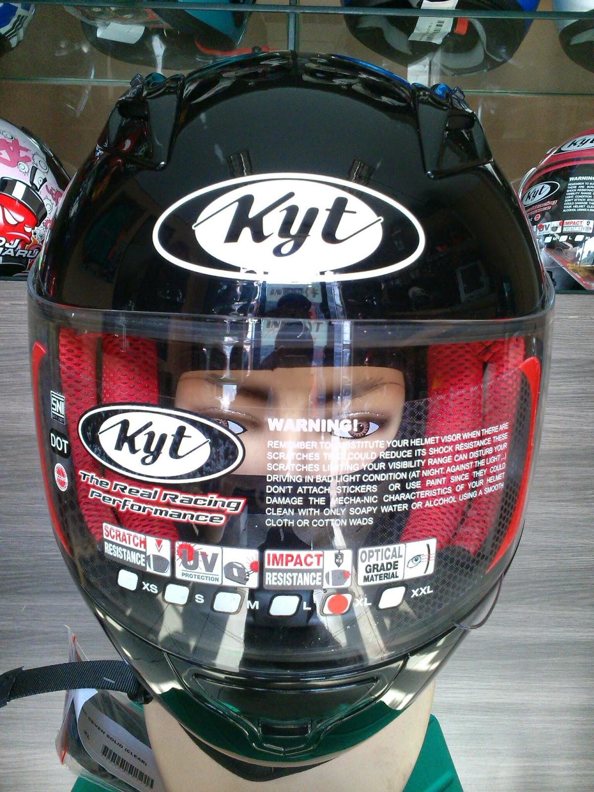 Silahkan Order sekarang juga Helm KYT RC Seven