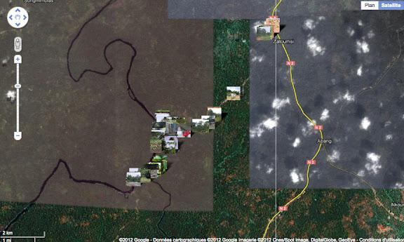 Localisation des photos autour d'Ebogo