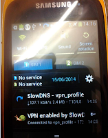 Screenshot of SlowDNS Tunnel :  VPN Over DNS