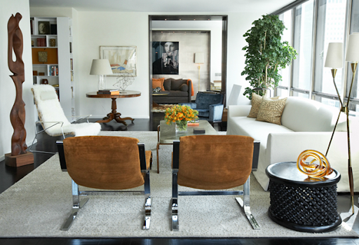 {A Contemporary, Eclectic New York Apartment Designed By David Scott  Interiors}