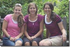 cropped Legend Oaks girls at Botanic Gardens