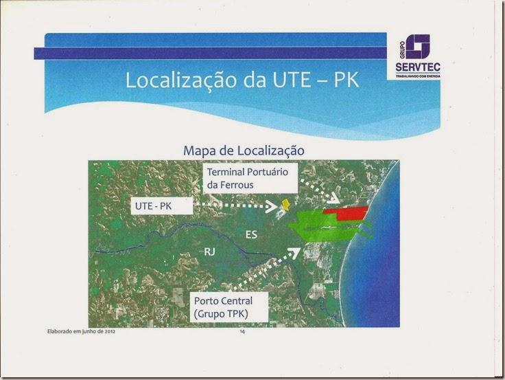 UTE Marobá - mapa de localização 001