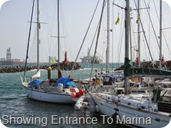 018 Surging at Entrance to Marina