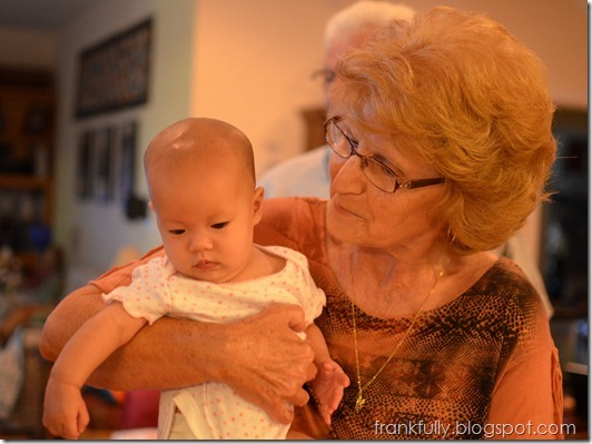 Grandma and goddaughter. Nikon 35mm f1.8 lens