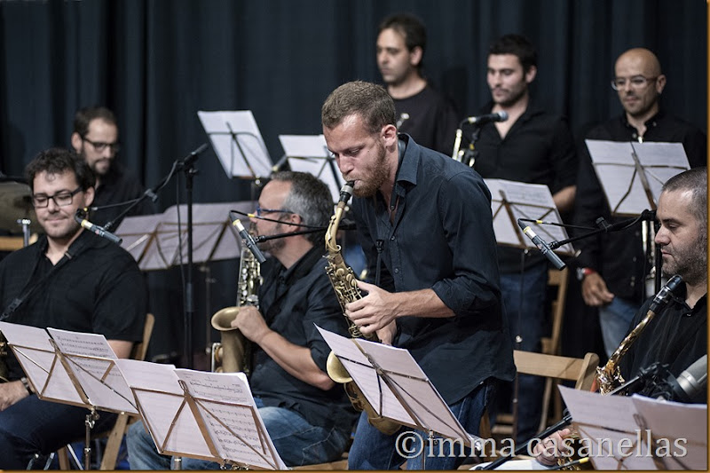 Àlex Cassanyes Big Band Project (Roger Martínez), Vilafranca del Penedès 2014